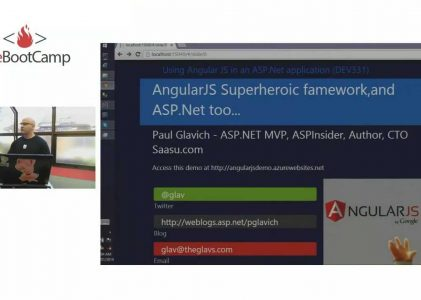 AngularJS and ASP .NET MVC Quickstart