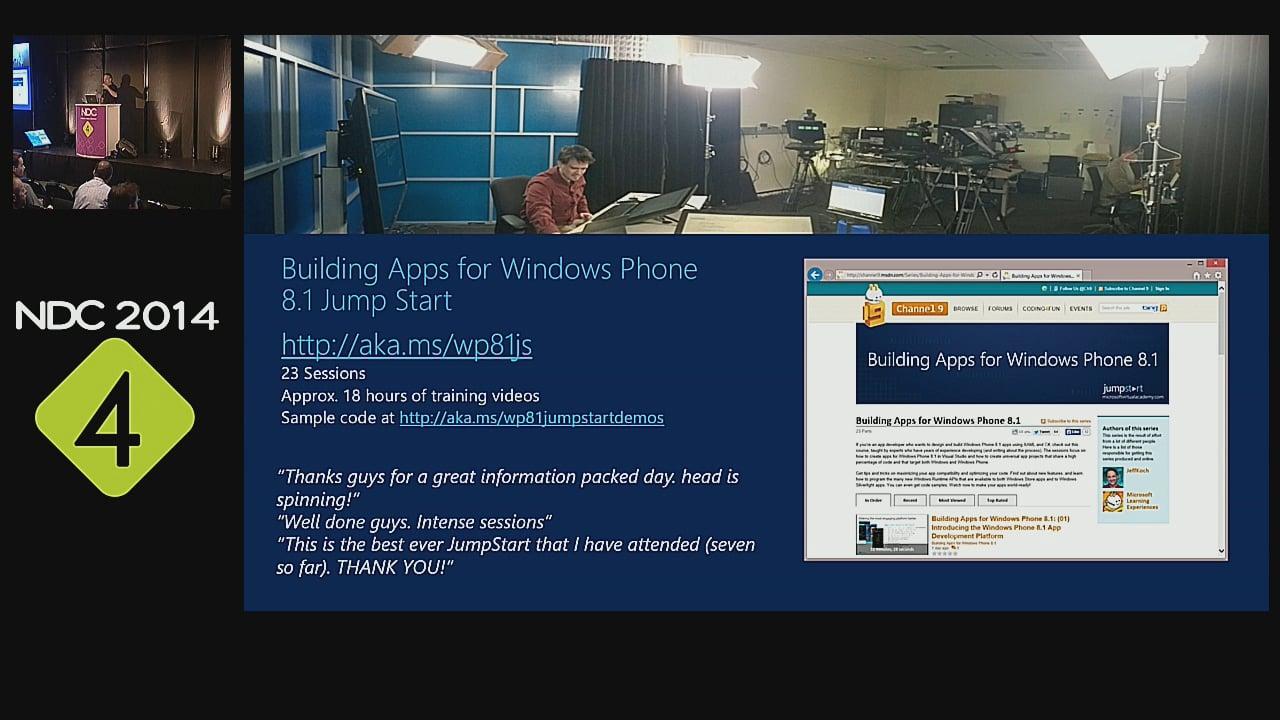 Around the Windows Phone 8.1 Development Platform