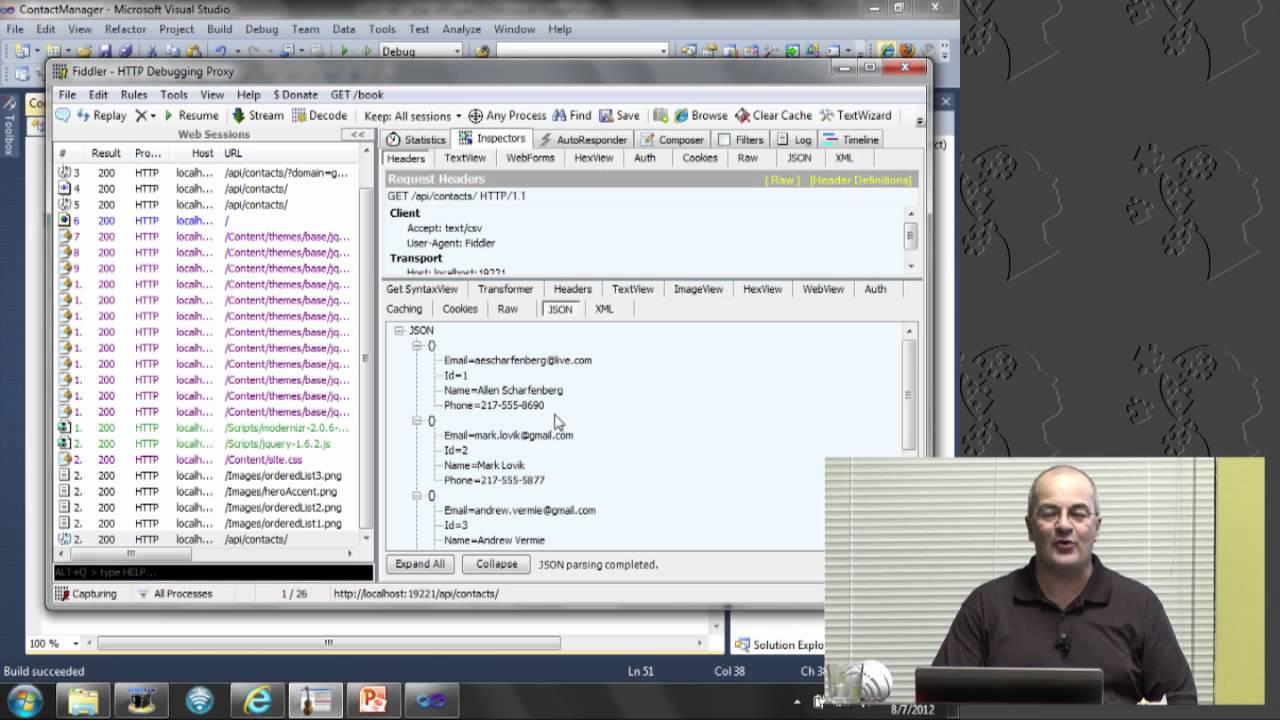 ASP.NET Web APIs