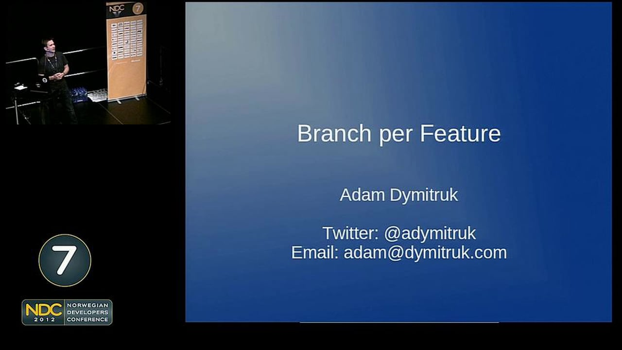 Branch-per-Feature in the Realm of Agile and .NET Development