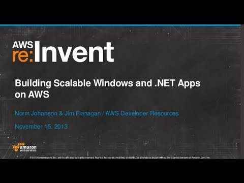 Build Scalable .NET Apps on AWS