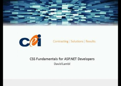 CSS Fundamentals for ASP.NET Developers