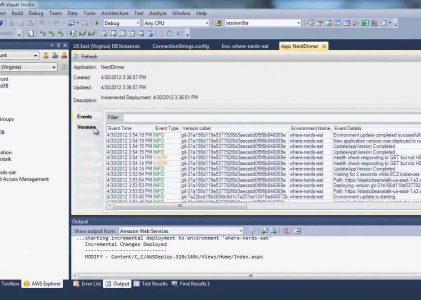 Deploy a .NET Application to AWS Elastic Beanstalk