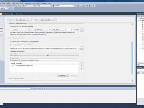 Deploying A Web Application Using Visual Studio 2010 Web Deployment Tool