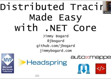 Distributed Tracing with .NET Core