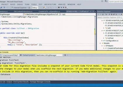 Entity Framework: Building Applications with Entity Framework 6