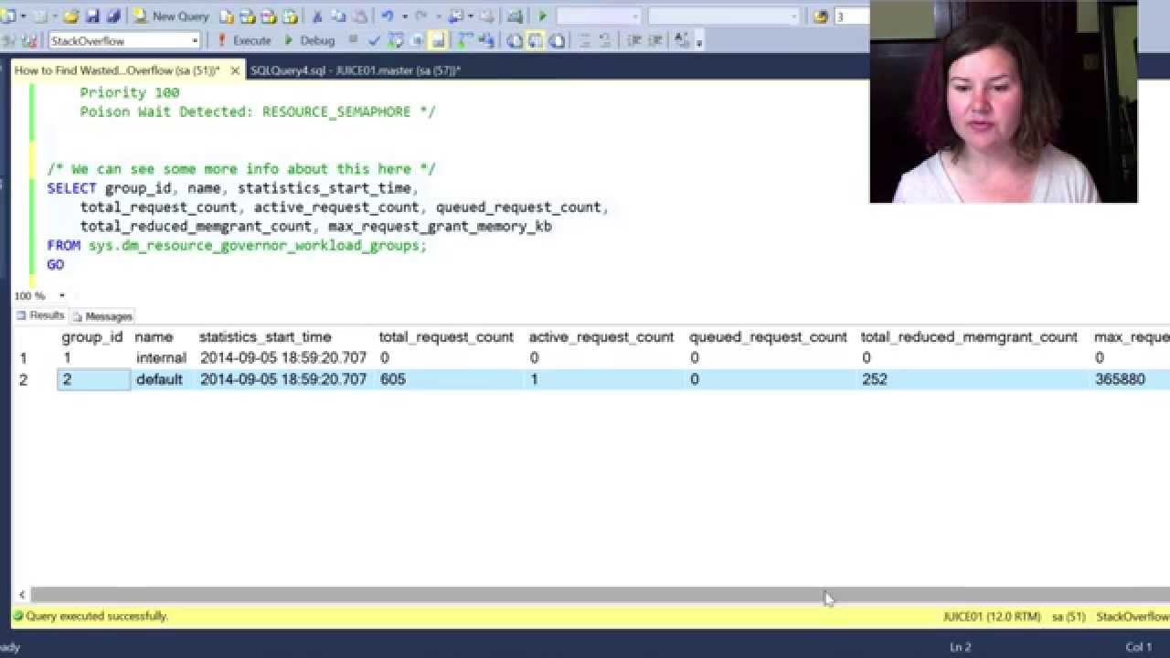 Finding Wasted Memory in SQL Server