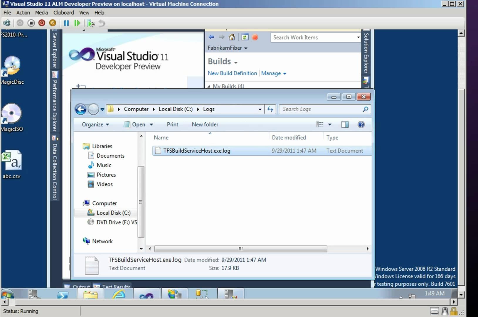 How to Troubleshoot Build Server Failure Visual Studio 2010