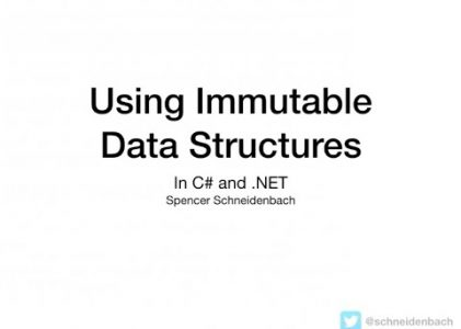 Immutable Data Structures in C# and .NET