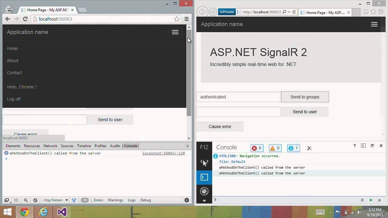 Introducing ASP.NET SignalR 2