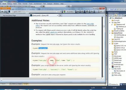 Introduction to jQuery and AJAX Web Forms