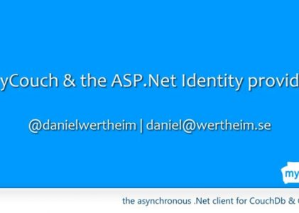 MyCouch & the ASP.NET Identity Provider