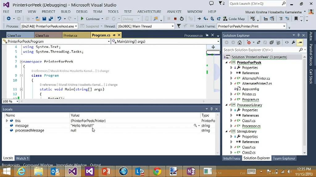 Productivity Power Tools for Visual Studio 2013