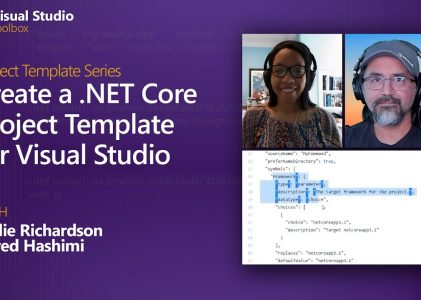 Creating a .NET Core Project Template for Visual Studio